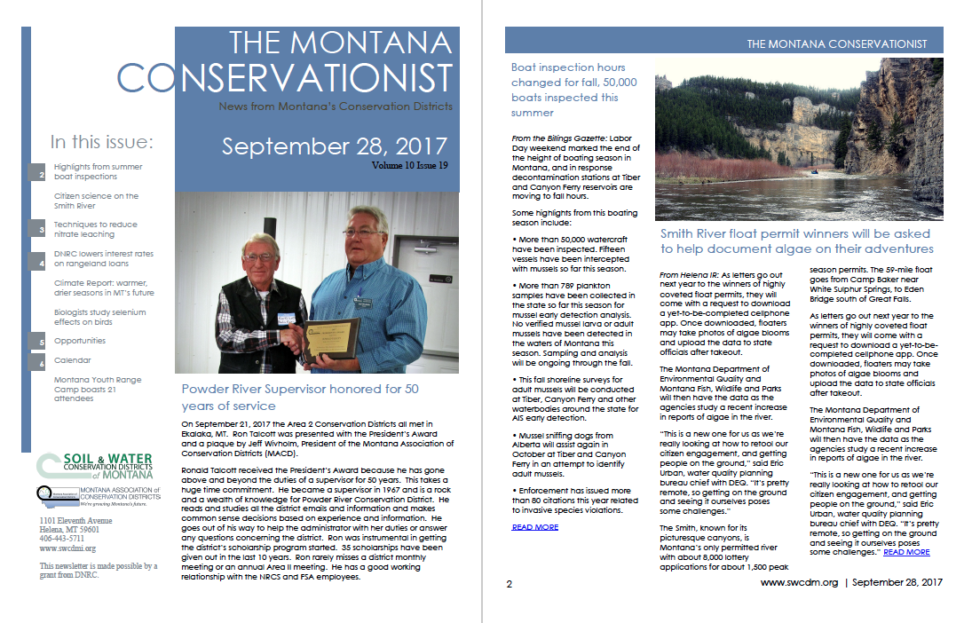 The Montana Conservationist September 28