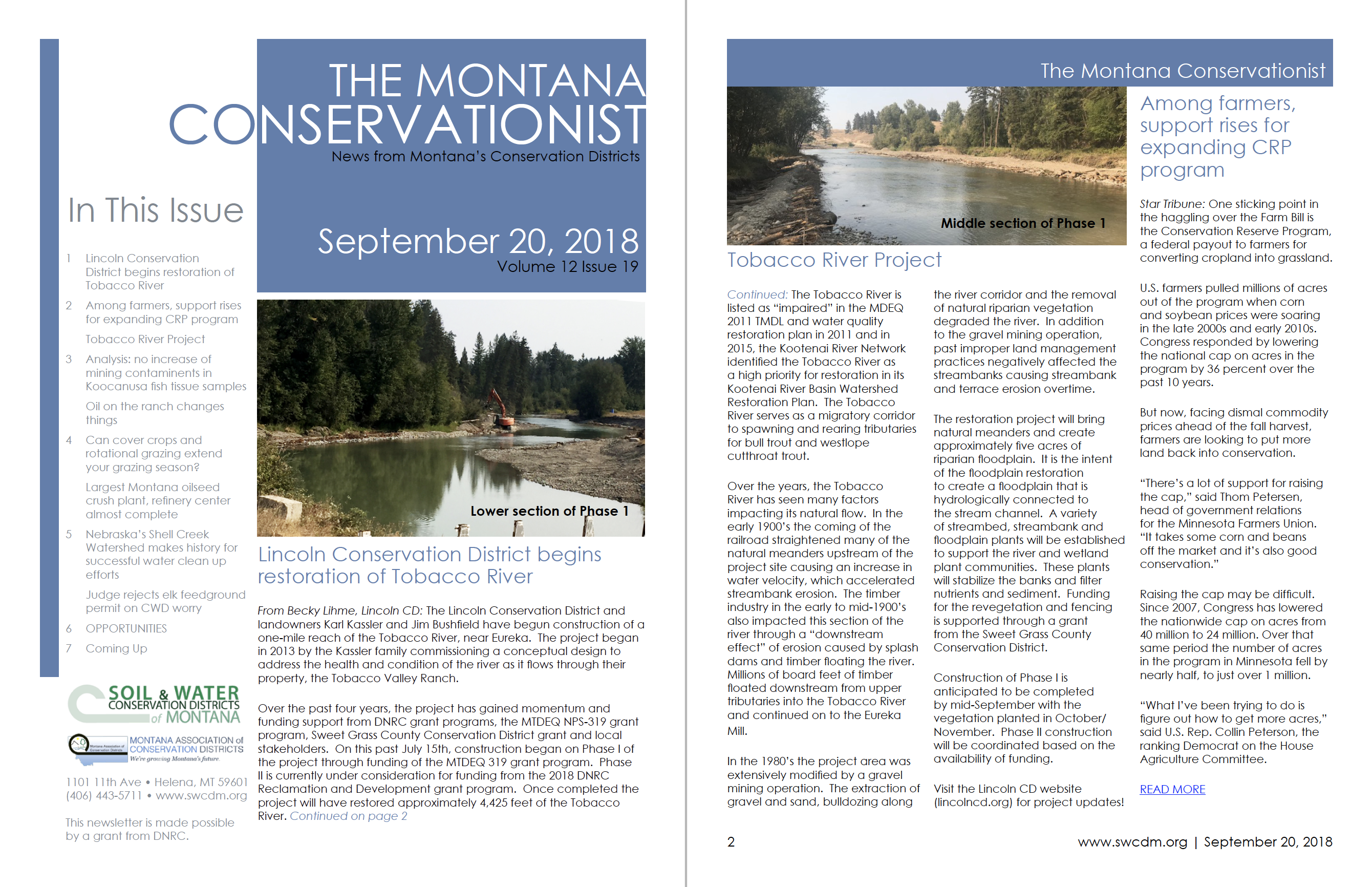 The Montana Conservationist September 20