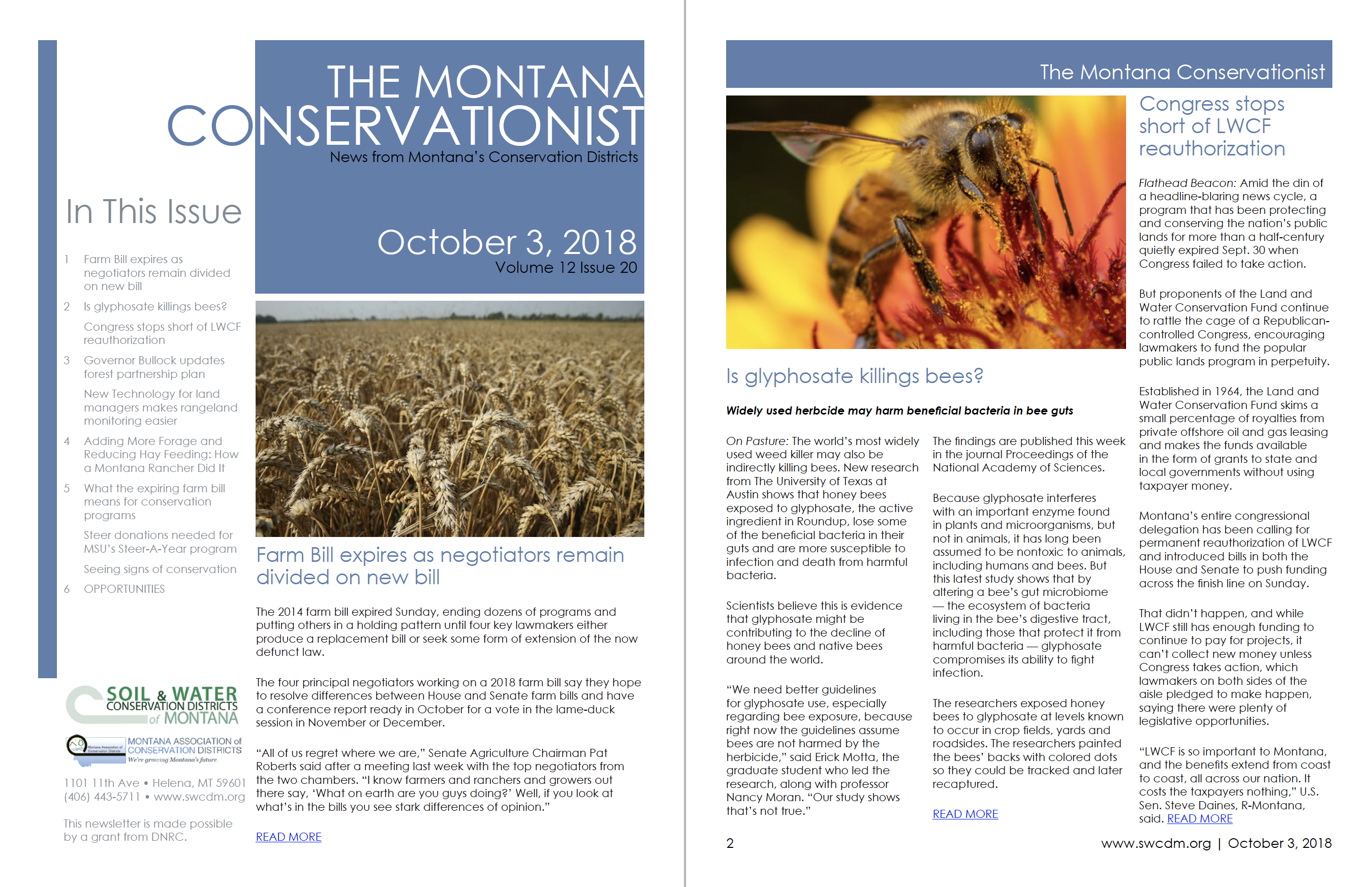 The Montana Conservationist