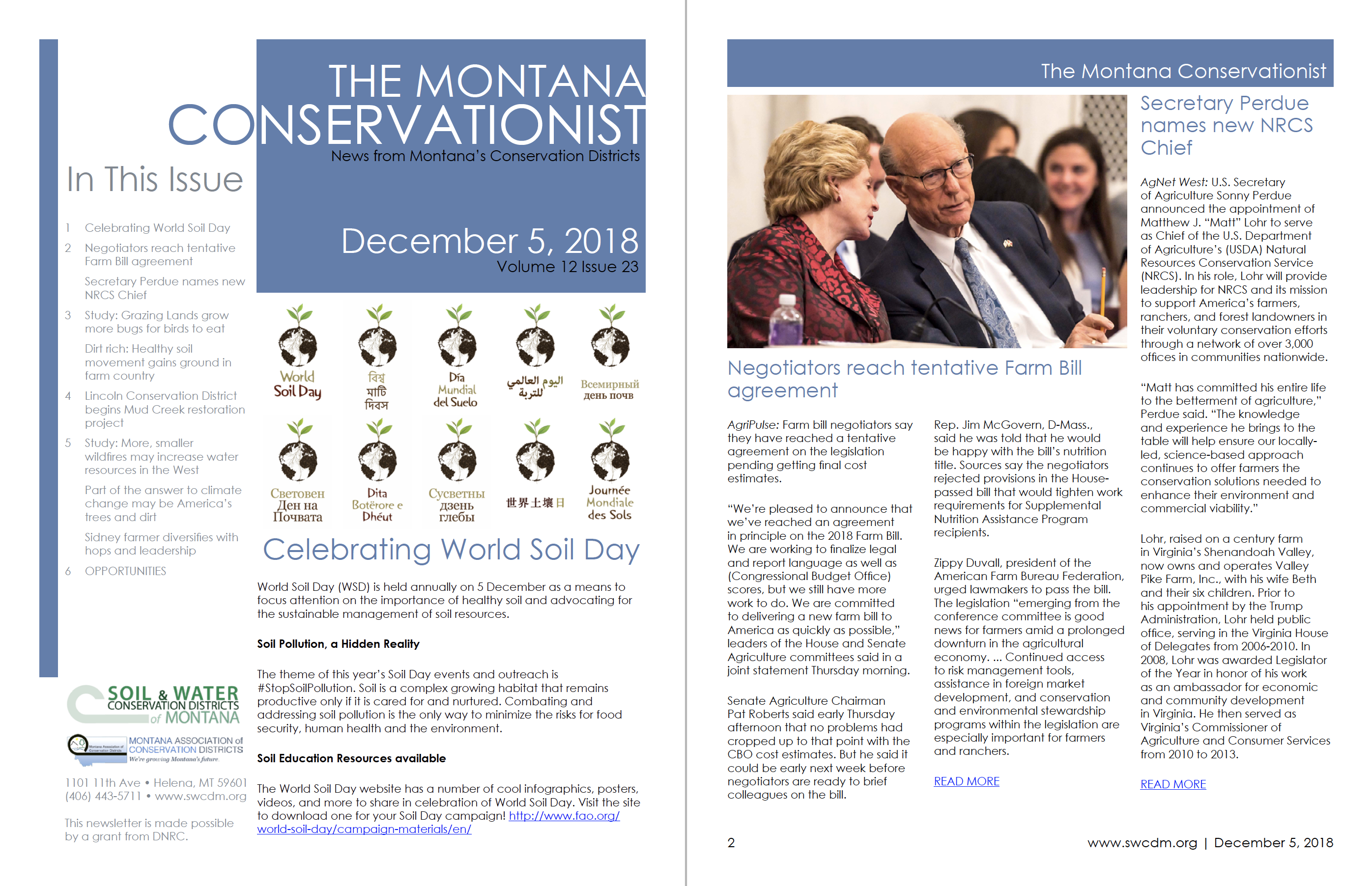 The Montana Conservationist December 5